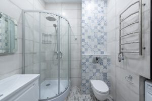 Contemporary Bathroom Features About Kitchens and Baths