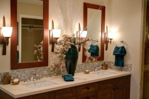 Double Sinks in Master Bathrooms About Kitchens and Baths
